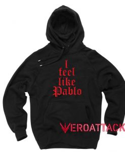 I Feel Like Pablo New Black Color Hoodie
