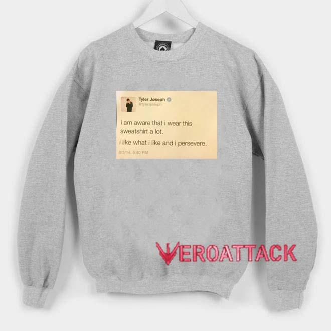8058ecafe Tyler Joseph Tweet Unisex Sweatshirts