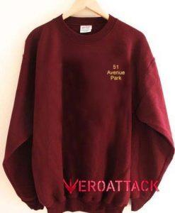 51 Avenue Park Unisex Sweatshirts