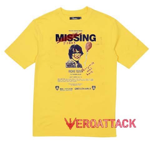 Missing Flout Richie Tozier Shirt