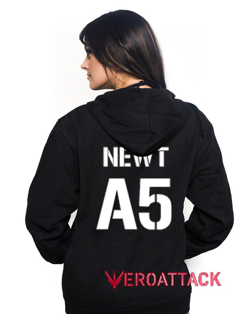 Newt A5 Black Color Hoodie