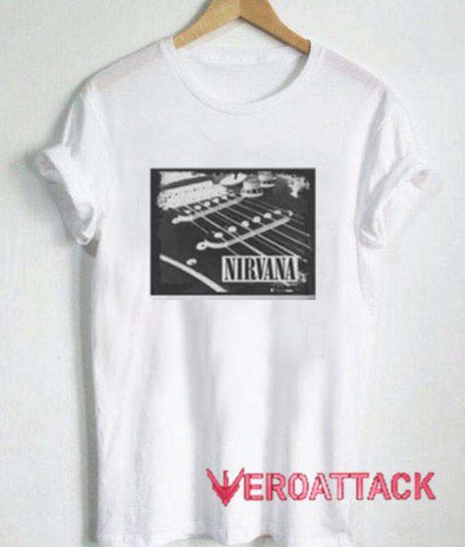 Nirvana Guitar String T Shirt Size XS,S,M,L,XL,2XL,3XL