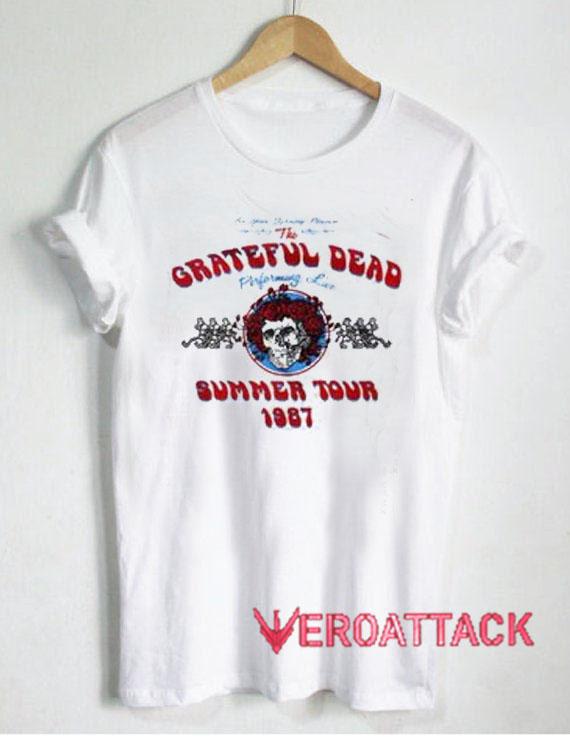 5b8f9824c40e Grateful Dead Summer Tour 1987 T Shirt Size XS
