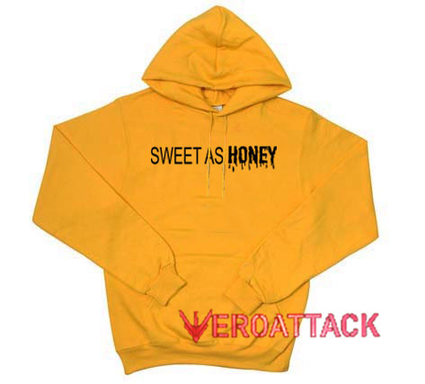 643c04bf5 Sweet As Honey Gold Yellow Color Hoodie