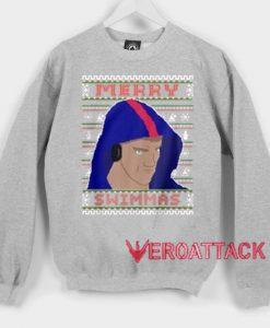 Merry Swimmas Unisex Sweatshirts