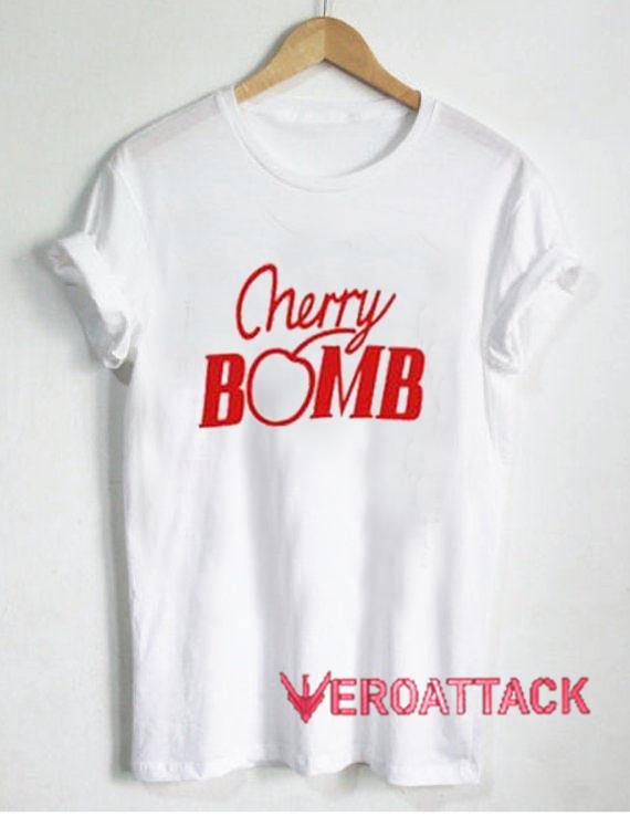 7ce3e3e10ceb8b Cherry Bomb T Shirt Size XS