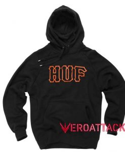 HUF New Black Color Hoodie