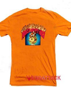 World Industries Skate Orange T Shirt Size S,M,L,XL,2XL,3XL