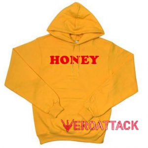 Honey Gold Yellow Color Hoodie