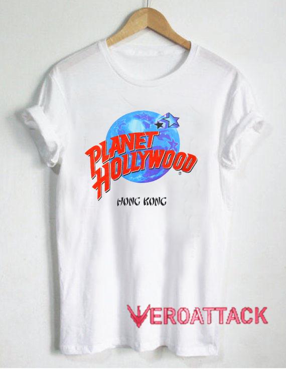 Planet hollywood hong kong t shirt size xs s m l xl 2xl 3xl for Planet hollywood t shirt