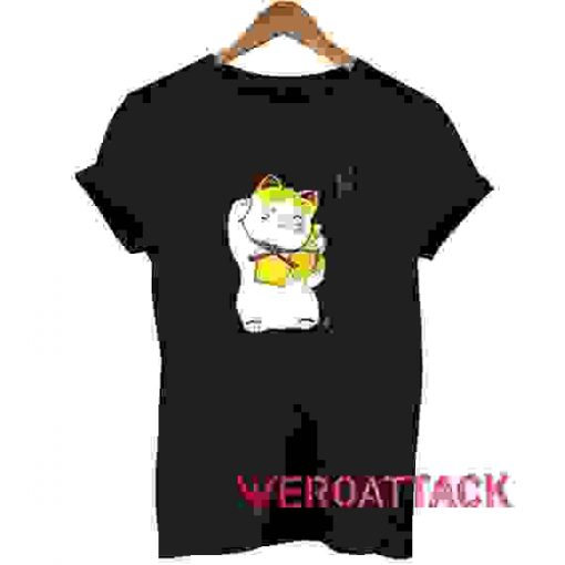 Maneki Neko Good Fortune T Shirt Size XS,S,M,L,XL,2XL,3XL