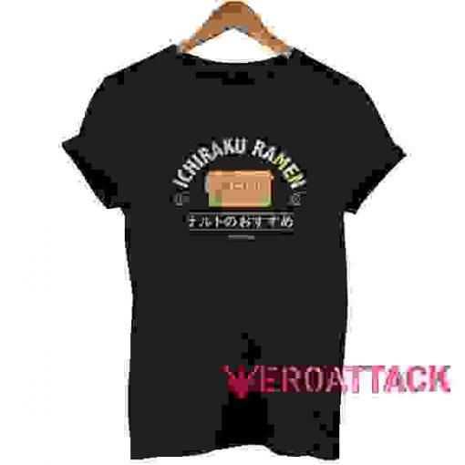 Ichiraku Ramen T Shirt Size XS,S,M,L,XL,2XL,3XL