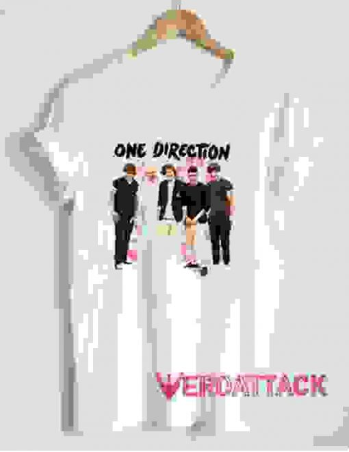 One Direction Cover T Shirt Size XS,S,M,L,XL,2XL,3XL