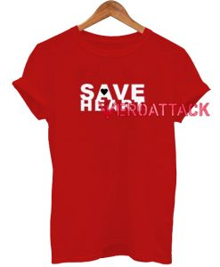 Save Heart T Shirt