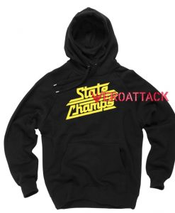 State Champs Black color Hoodies