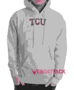 TCU Grey color Hoodies