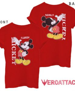 1980s Mickey Mouse Florida T Shirt