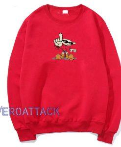 Kids Next Door Numbuh 1 Red Unisex Sweatshirts