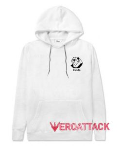 Panda Bear White hoodie