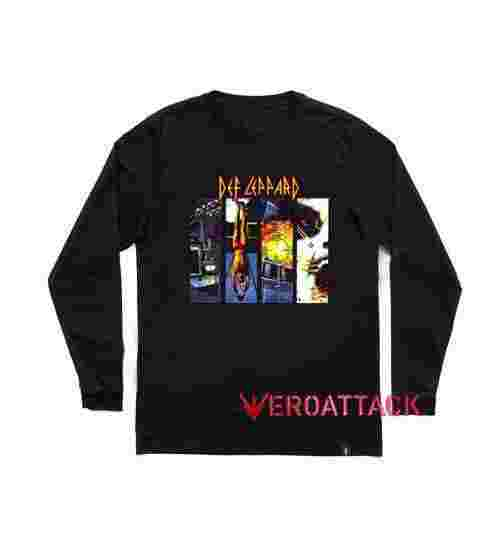 Def Leppard Rock Of Ages Long sleeve T Shirt