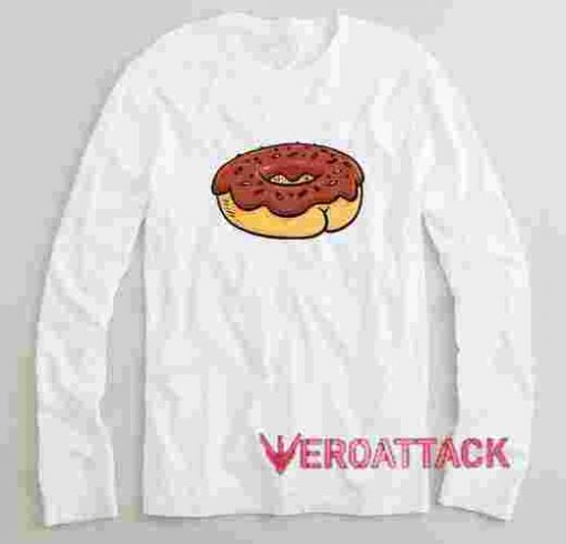Donut Butt Long sleeve T Shirt