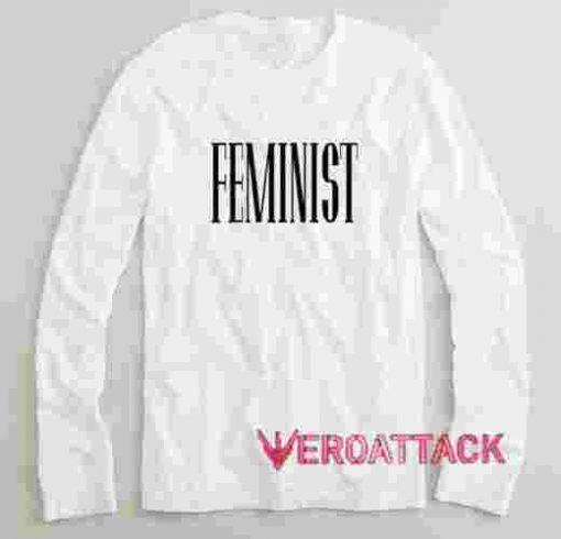 Feminist Long sleeve T Shirt