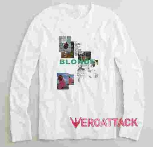 Frank Ocean Blonde Long sleeve T Shirt