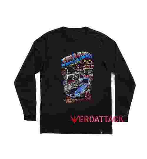Hot Wheels Muscle Divisiont Long sleeve T Shirt