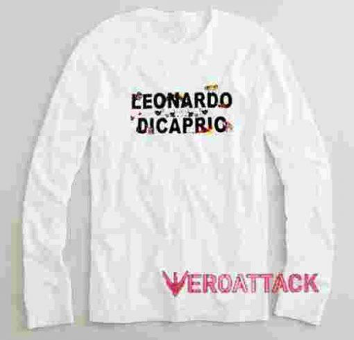 Leonardo Dicaprio Long sleeve T Shirt