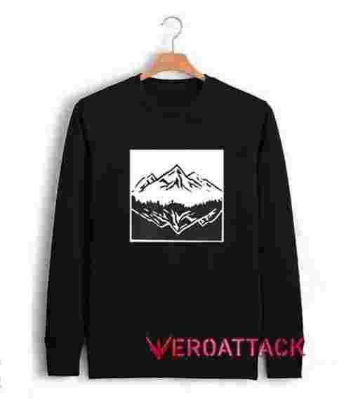 Mountain Upside Down Unisex Sweatshirts