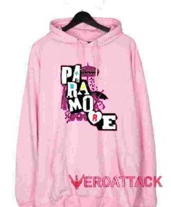 Paramore Light Pink color Hoodies