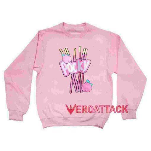 Pocky Peach light pink Unisex Sweatshirts