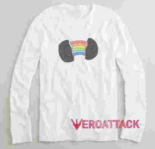 Rainbow Oreo Long sleeve T Shirt