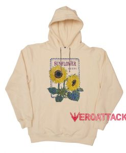 Sunflower Seeds Cream Color Hoodie