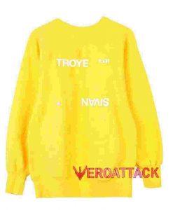 Troye Sivan '18 Tour Yellow Unisex Sweatshirts