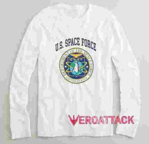 US Space Force Long sleeve T Shirt