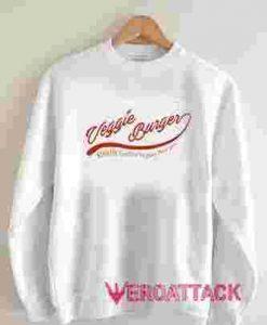 Veggie Burger Vegan Burger Unisex Sweatshirts