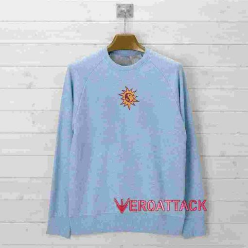 Yin Yang Sunshine Light Blue color Hoodies