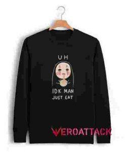 kaonashi chibi Unisex Sweatshirts