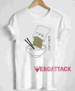 Camiseta Ramen T Shirt Size XS,S,M,L,XL,2XL,3XL