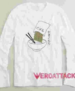 Camiseta Ramen Long sleeve T Shirt