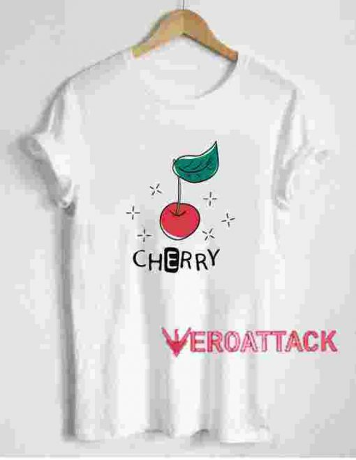 Cherry Patch T Shirt Size XS,S,M,L,XL,2XL,3XL