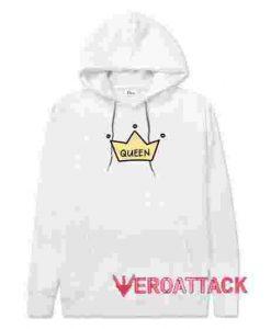 Cute Queen White hoodie