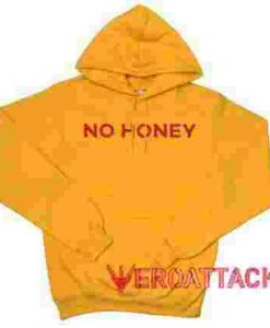 No Honey Gold Yellow color Hoodies
