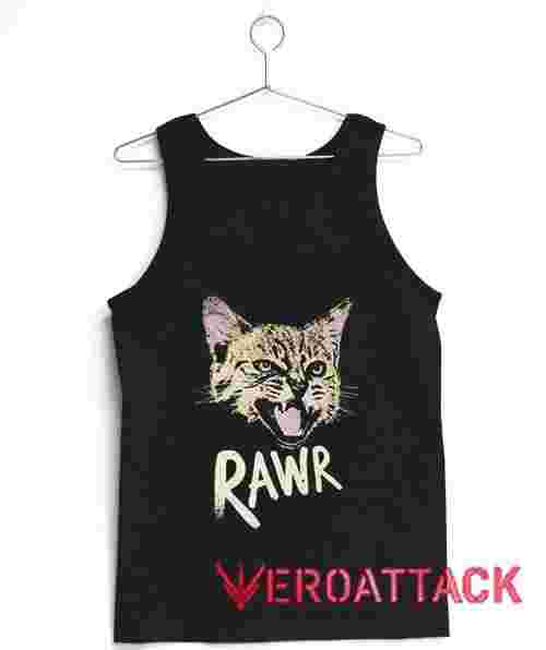 Rawr Kitty Tank Top Men And Women