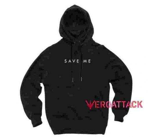 Save Me Black color Hoodies