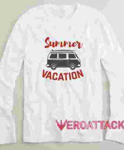 Summer Vacation Long sleeve T Shirt