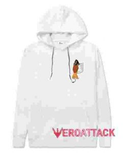 The Lion King No Pocket White hoodie