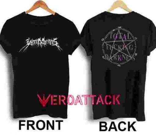 Vetements Total Fucking Darkness T Shirt Size XS,S,M,L,XL,2XL,3XL