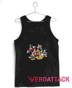 Mickey and Friends Tank Top Men And Women